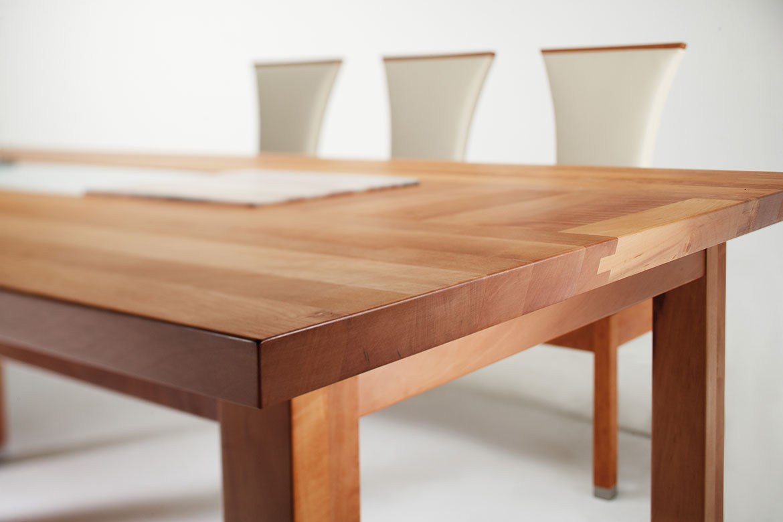 tisch golddesign first class holz. Black Bedroom Furniture Sets. Home Design Ideas