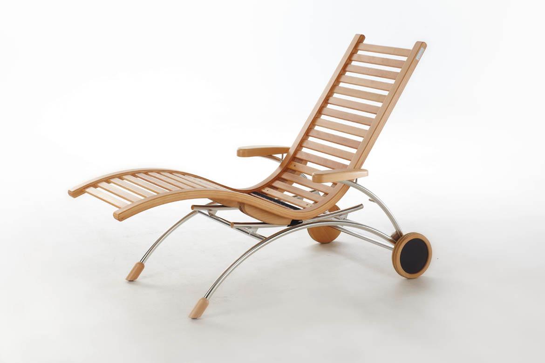 wellnessliege siesta classic first class holz. Black Bedroom Furniture Sets. Home Design Ideas