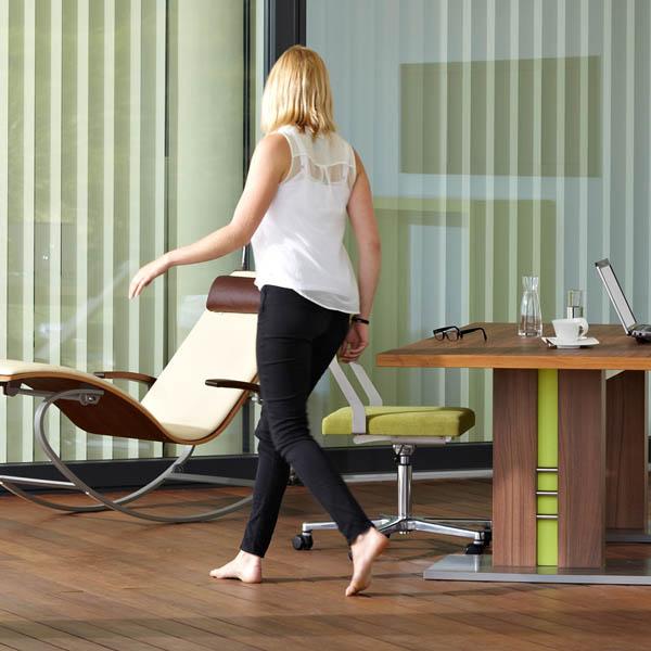 wellnessliege siesta pur first class holz. Black Bedroom Furniture Sets. Home Design Ideas