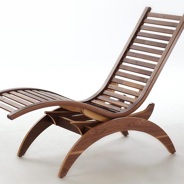 wellnessliege siesta basic first class holz. Black Bedroom Furniture Sets. Home Design Ideas