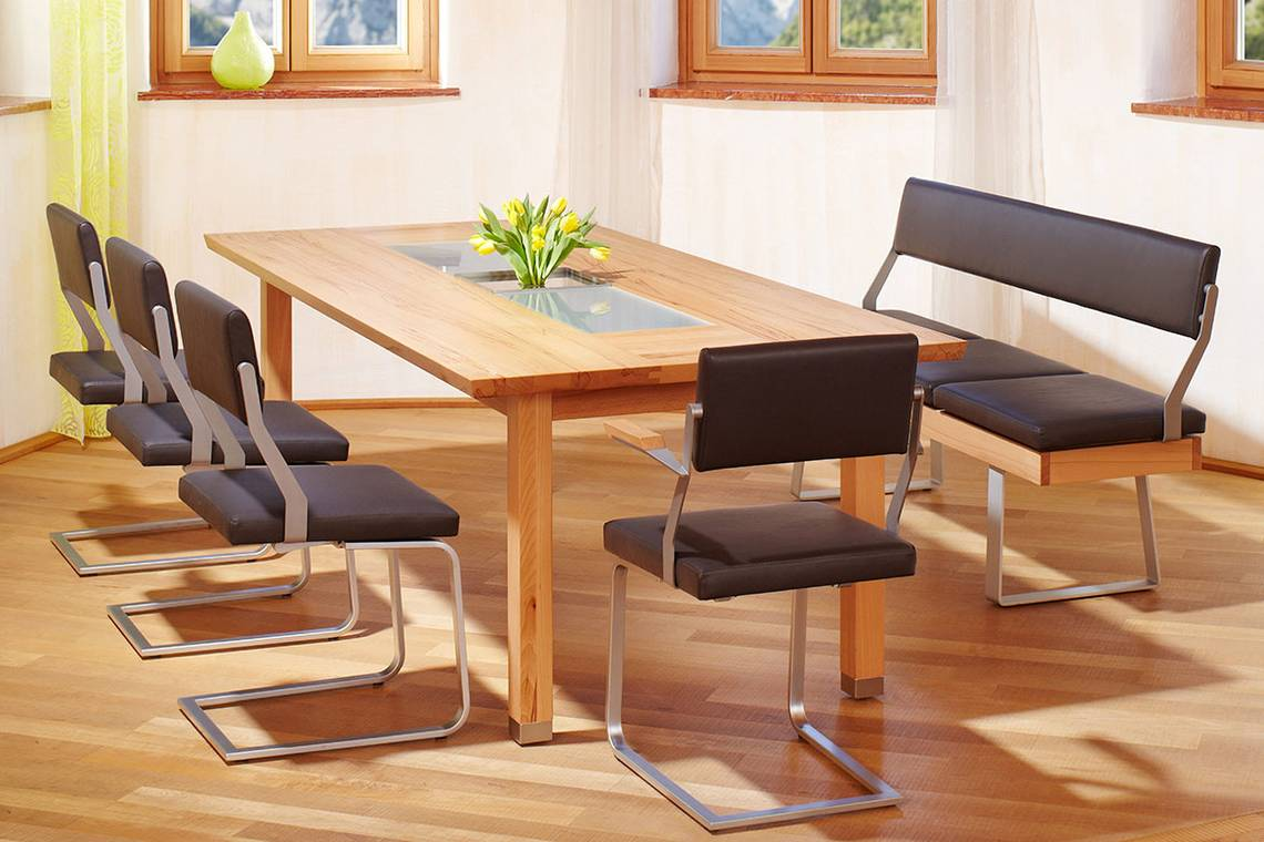 tische first class holz. Black Bedroom Furniture Sets. Home Design Ideas